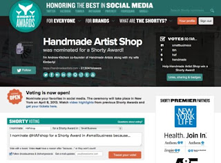 HAFshop and Shorty Awards