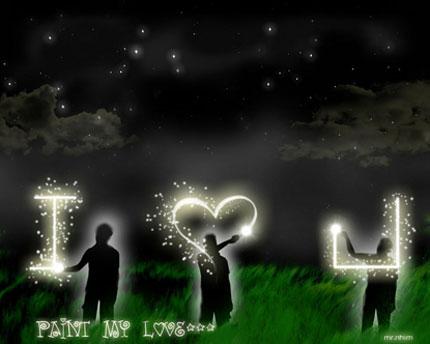 Gửi thông điệp yêu thương bằng hình ảnh