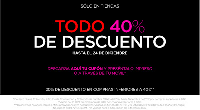 BLANCO 40% DESCUENTO HASTA NOCHEBUENA