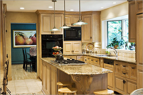 Jan sells l a for Center islands for small kitchens