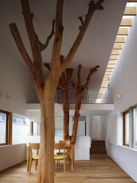 Garden Tree House by Hironaka Ogawa & Associates (via Nest of Pearls, Australian Design Blog)