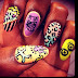 Keith Haring Inspired Nails