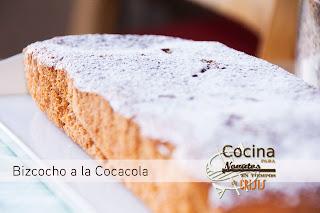 BIZCOCHO DE COCA COLA