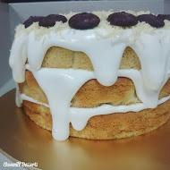 Cheesy 'Leleh' Cake