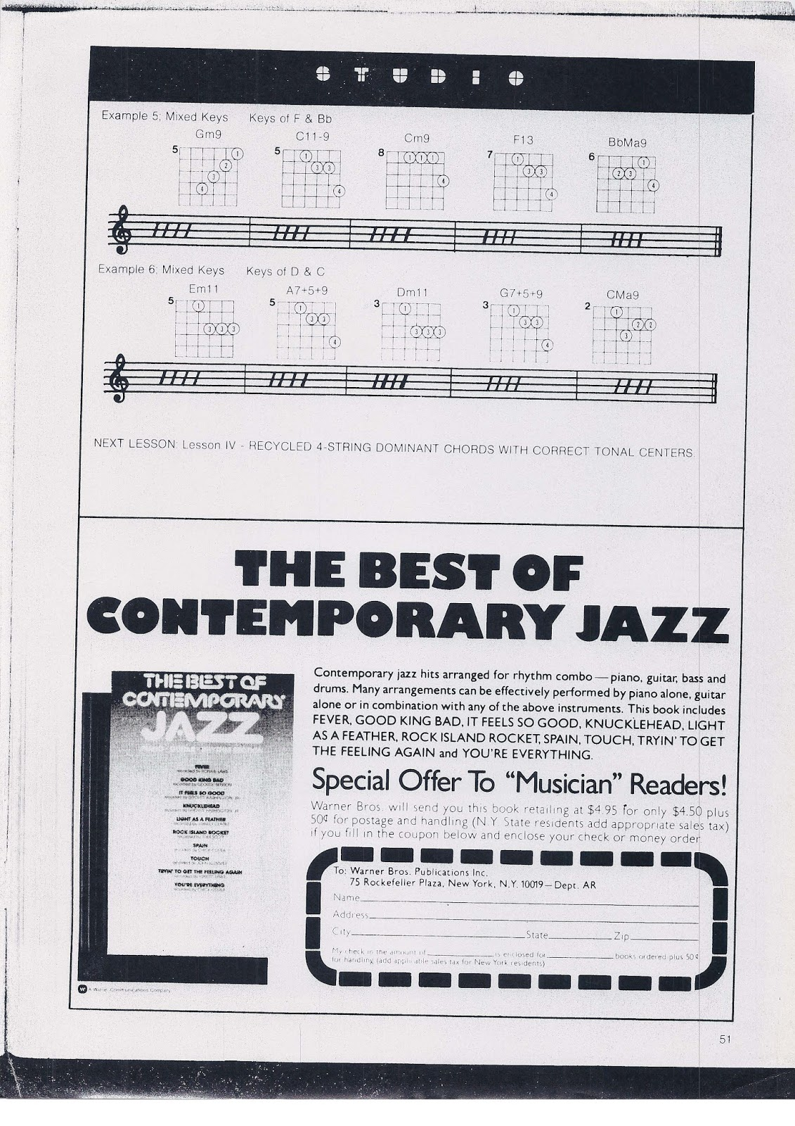 4 note extended harmony jazz chord voicing opportunities piano i found and read a article by world renowned jazz guitar author and clinician warren nunes on 4 notestring voicings for jazz chords and made the hexwebz Images