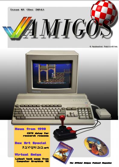 The Official Amigos Podcast Magazine