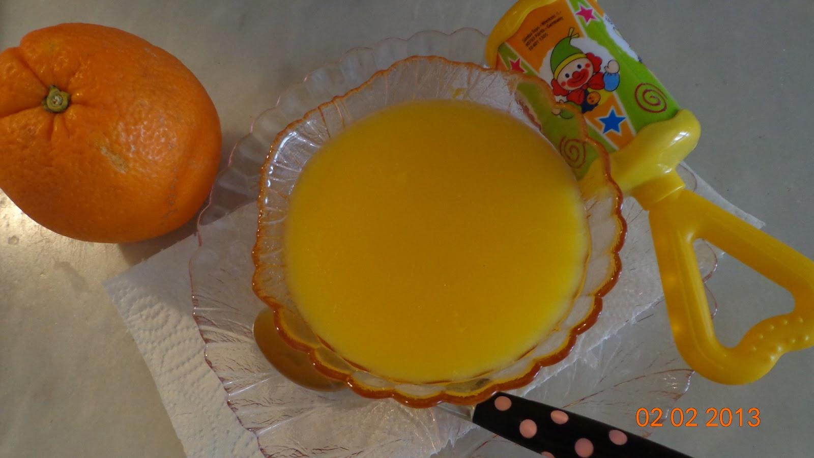 Portakallı Pelte
