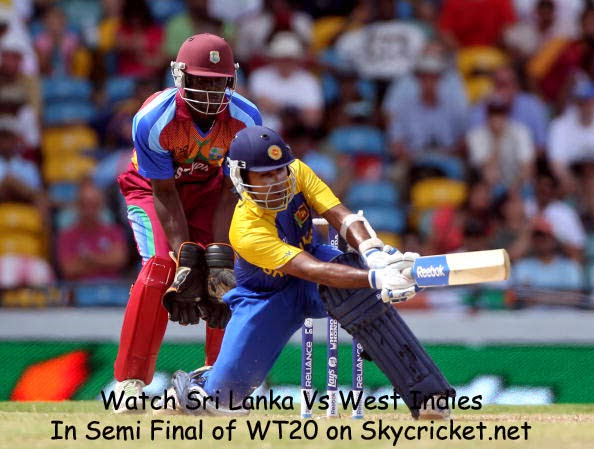T20 Semi Final between Sri Lanka and West Indies