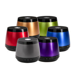 Jam+speakers 2 Portable Bluetooth Speakers for Teens and College Students