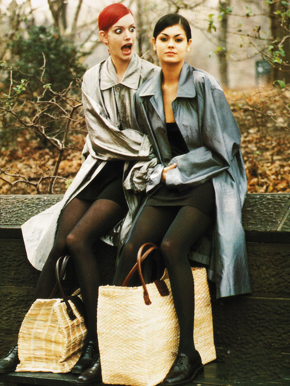 Vogue Italia January 1994 via www.fashionedbylove.co.uk