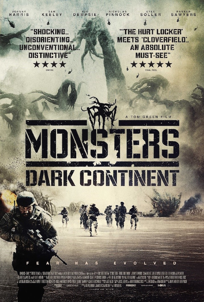 Monsters: Dark Continent ganha primeiro cartaz