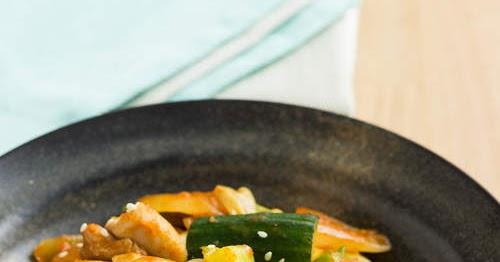 韓式辣椒雞丁 【認真下飯】 Korean Chilli Chicken Stir Fry