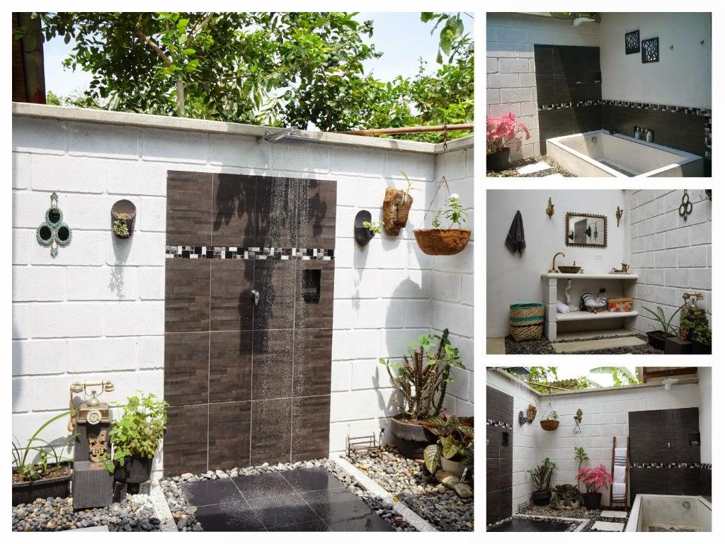 Pisos Para Baño Rusticos: rustico, baño, rustico, artesanal, exterior, cemento liso