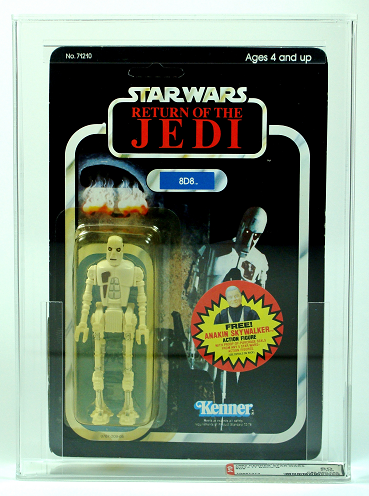 1983 	KENNER 	STAR WARS 	ROTJ 77 BACK-B 	8D8 		AFA Y-80