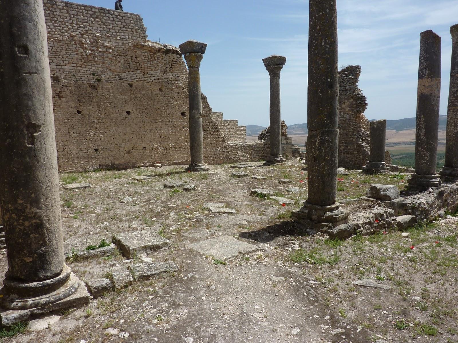 тунис дугга термы