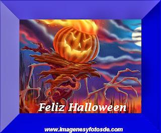 Feliz Halloween con Calabaza de Terror