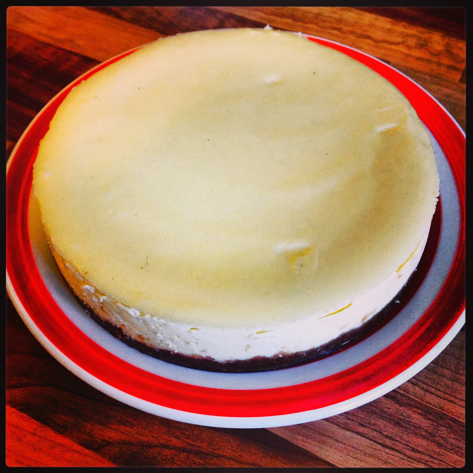 Vanilla Cheesecake, How You Doin'?