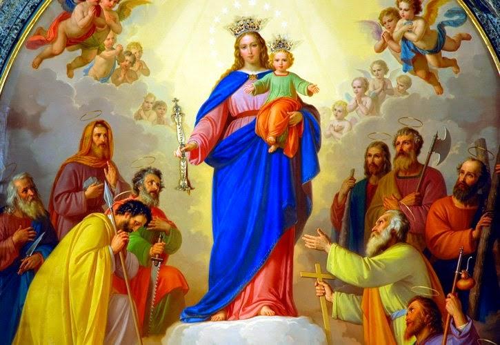 Maria Auxiliadora obra de Tomas de Lorenzone de Italia