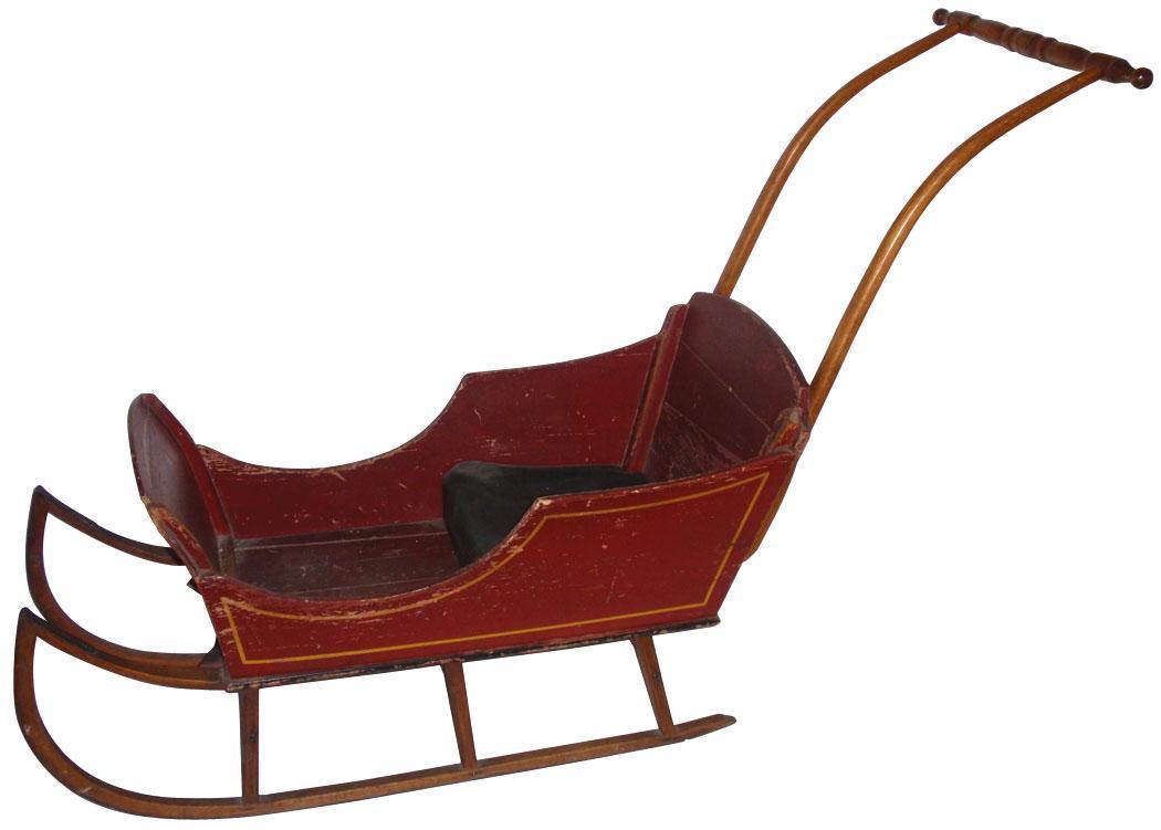Antique Baby Sled Best 2000 Antique Decor Ideas