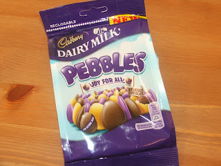 Cadbury Dairy Milk Pebbles Review