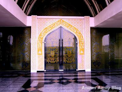 Masjid Kristal, Crystal Mosque, Door, Visit Malaysia Year 2014