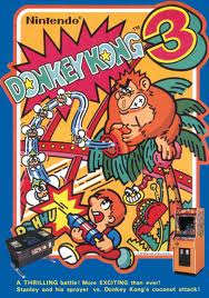Donkey Kong arcade game portable flyer