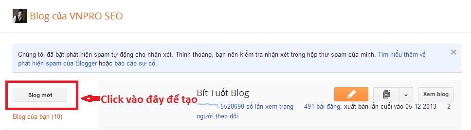 Hướng dẫn cách tạo Blogspot đơn giản dễ làm