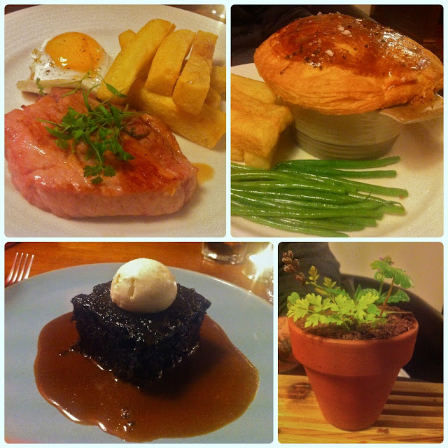 The Eagle and Child, Ramsbottom - Mains & Desserts