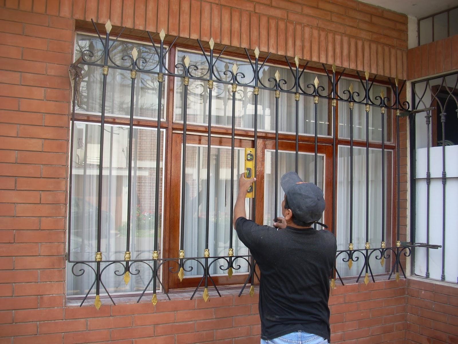 Carpinteria metalica ventanas protectores for Ventanas modelos