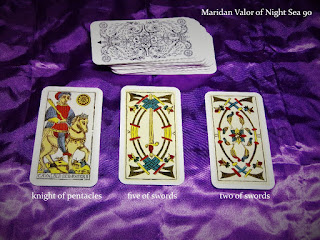 My Tarot Cards; just showing off my cards and trying out a reading.