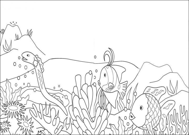 Jogo Vamos Colorir o Fundo do Mar? - Jogos de Pintar