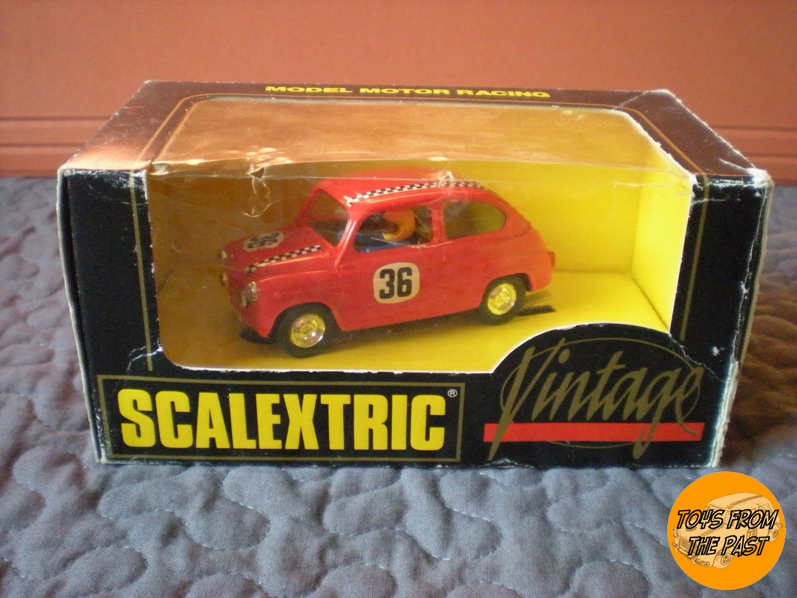 Toys From The Past : Toys from the past scalextric seat tc vintage