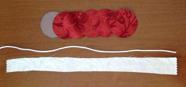 tutorial flor de tela