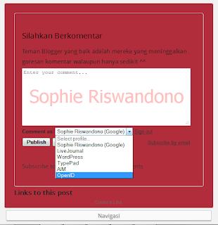 Cara Membuat OpenID Blogger
