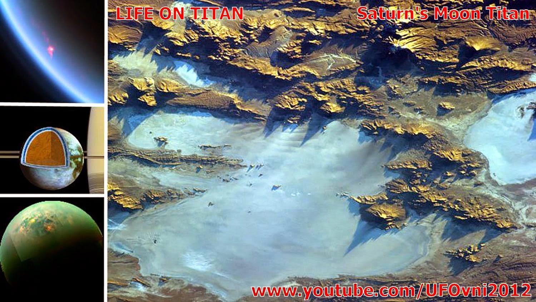 Vivant sur TITAN : Cassini voit mers ensoleillées sur Titan