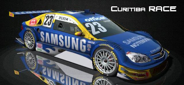 Cartel curitiba Stock Cars V8 rfactor