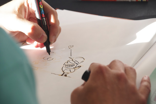 Didier Ah Koon qui dessine - Minion comic author