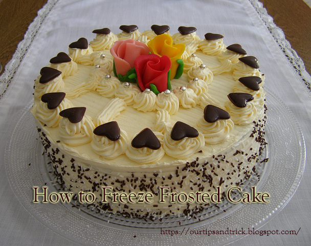 How Long To Freeze Cake Before Frosting