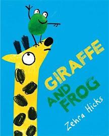2018年4月預告 生活教育幽默繪本《長頸鹿和青蛙》
