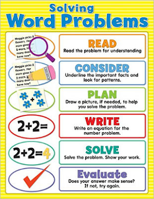 solving math problems with steps