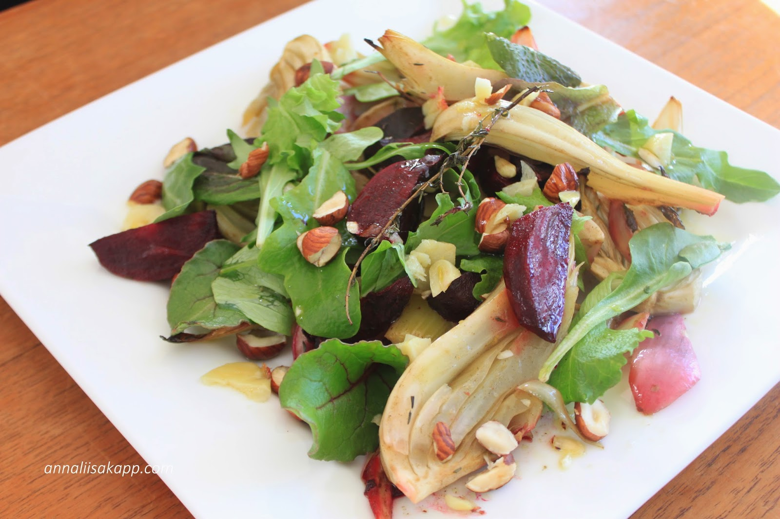 Fall foods: Roasted beet and fennel salad