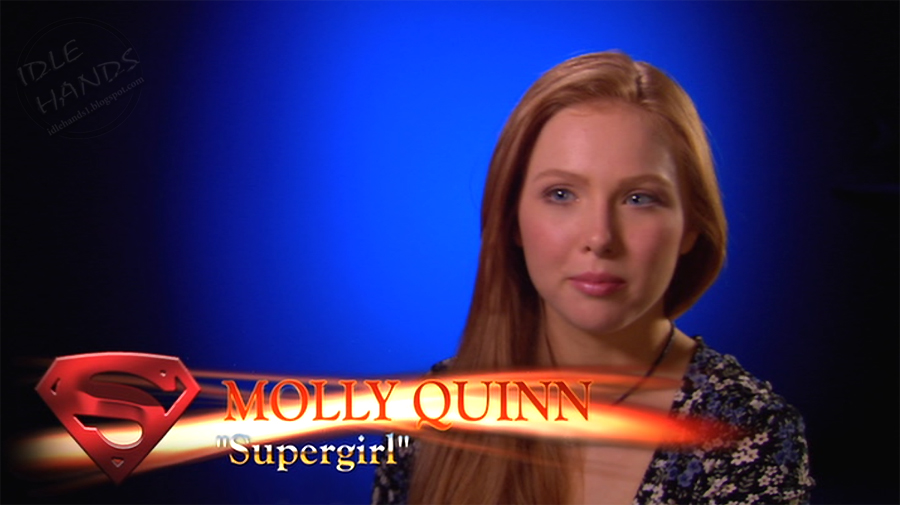Molly C Quinn Supergirl