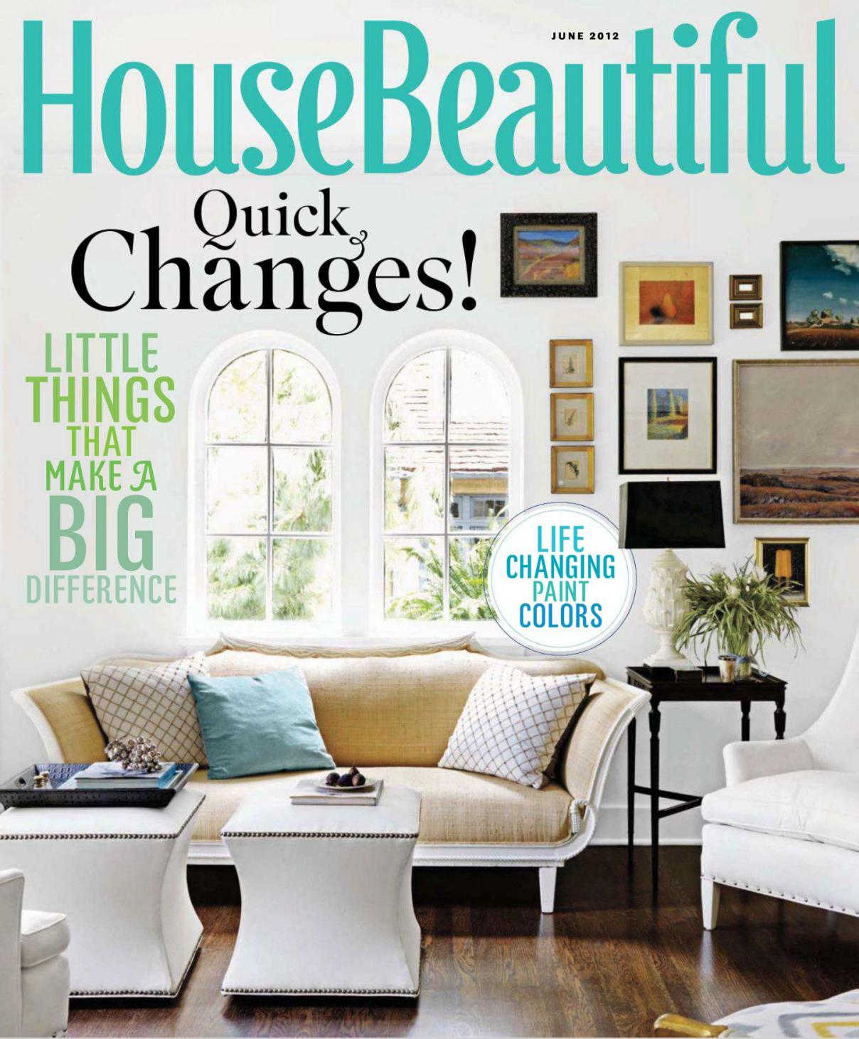 House Beautiful Magazine Viewing Gallery