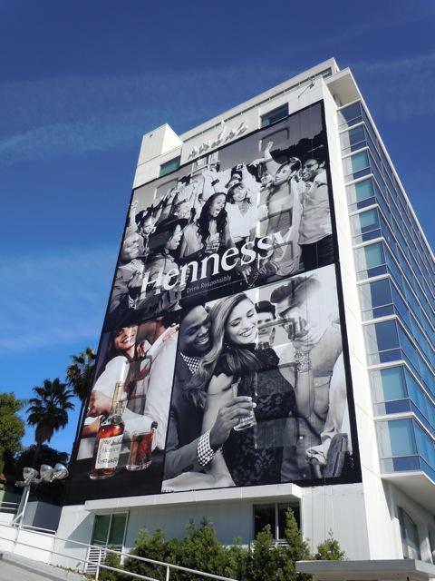 Hennessy Cognac billboard 2011