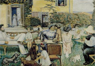 Pierre Bonnard - L'après-midi bourgeoise ou La famille Terrasse