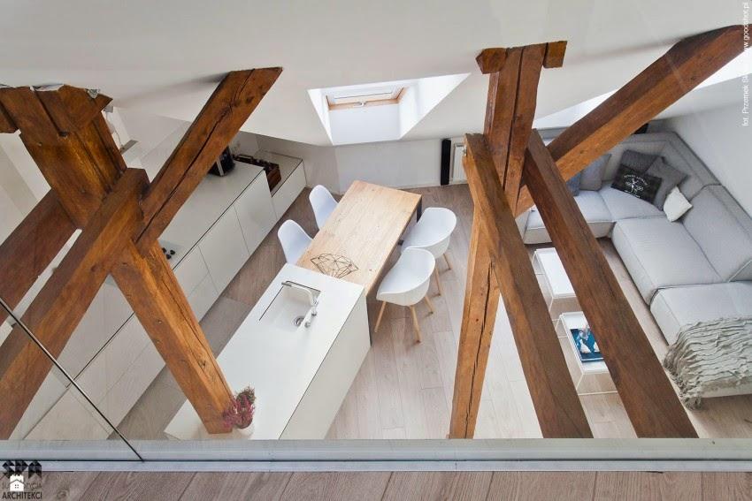 La madera como escultura,Reforma en 80 m2, post de HABITAN2