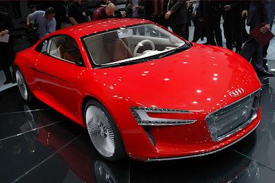 Audi R8 E-Tron Gallery