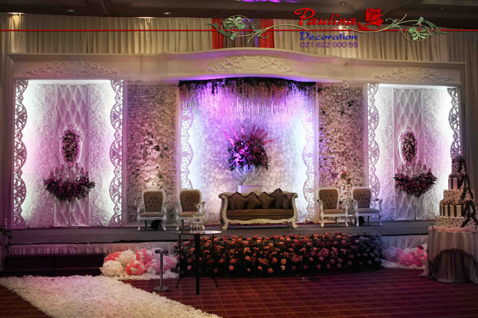 Dekorasi wedding paulina 2012 ritz carlton pacific place junglespirit Images