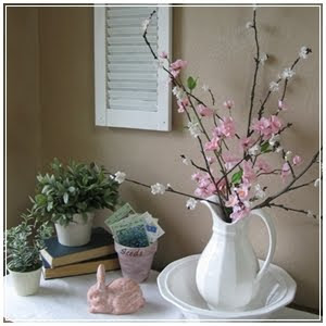 DIY APPLE BLOSSOM BRANCHES