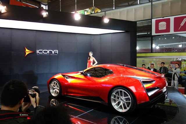 Icona Vulcano Breaks Cover at the Shanghai Motor Show